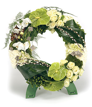 Wreath on Stand